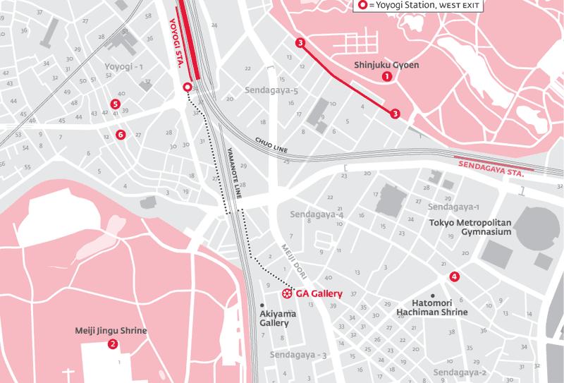 Art Space Tokyo - Ga Gallery  Tokyo Art Maps